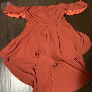 Brand Nee Fashion Nova Romper Dress